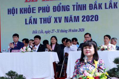 Phòng Giáo dục và Đào tạo thành phố – Đơn vị dẫn đầu Hội Khỏe Phù Động tỉnh Đăk Lăk lần thứ XV, năm 2020