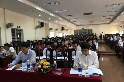 Hội nghị Tổng kết năm học 2019 – 2020, triển khai phương hướng, nhiệm vụ năm học 2020 -2021 của ngành Giáo dục và Đào tạo thành phố.